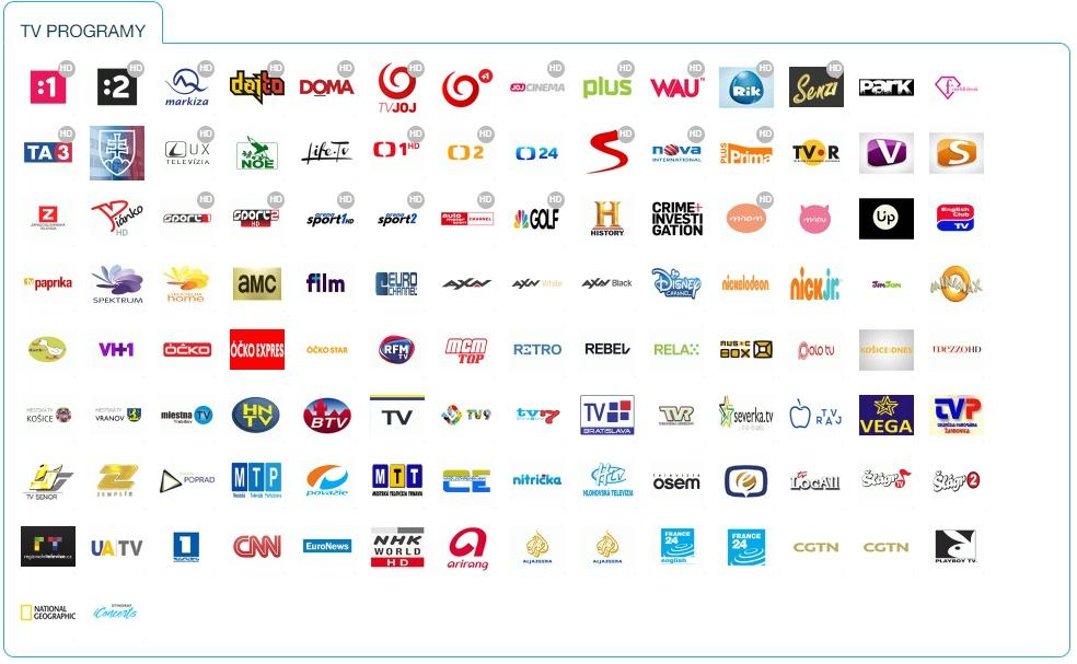 056536fbd VEĽKÝ platený balík - 114TV staníc + 50+ rádiových staníc + mestké kamery  (prevažne KE)